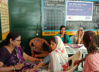 Health and Sanitation -  Health Camp for women and child in Uttar Pradesh